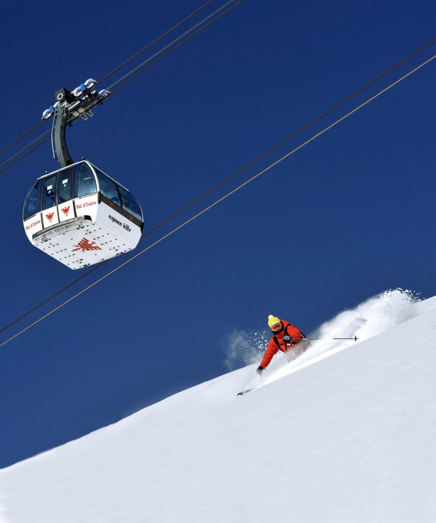 Hors piste à Tignes Val d'Isère