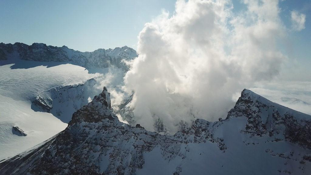 Volcans au Kamchatka