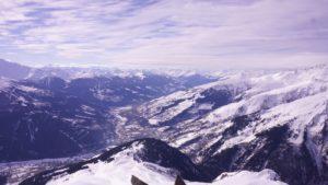 Vue panoramique depuis le Clapet de Bourg Saint Maurice