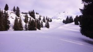 ski de randonnée le Clapet