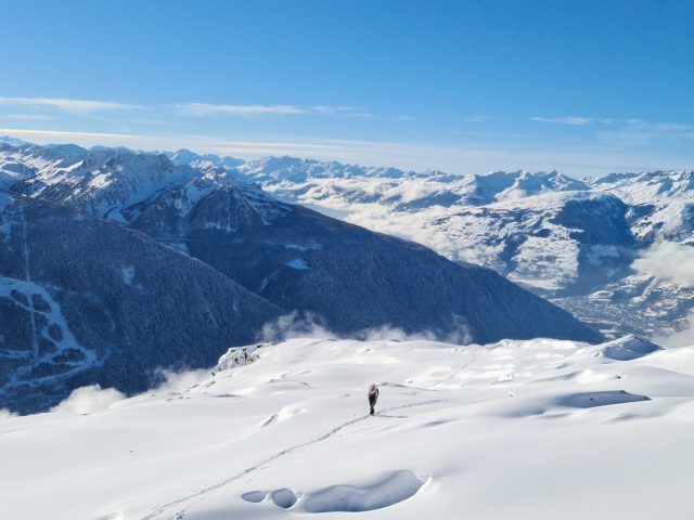 Le Bec Rouge en ski de randonnée
