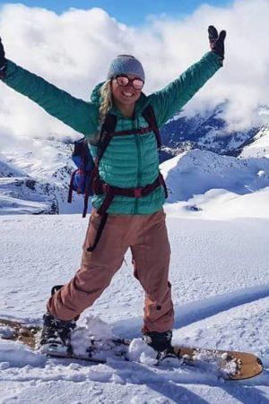 joanna-snowboard